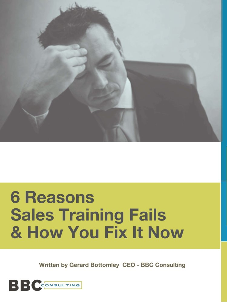 eBook: 6 Reasons Sales Training Fails & How To Fix It